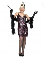 Costume da charleston stellato per donna