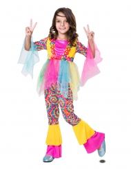 Costume da hippie con tulle per bambina
