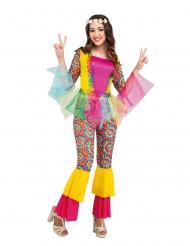 Costume da hippie con tulle per donna