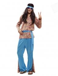 Costume da hippie psichedelico uomo