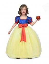 Costume principessa del ballo giallo e blu bambina