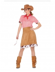 Costume da Cowgirl del Far West