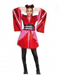 Costume da geisha giapponese moderna per donna
