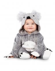 Costume da koala grigio per bebè