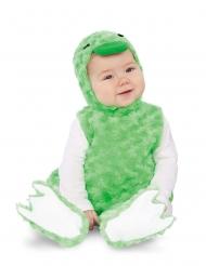 Costume piccola papera di peluche verde