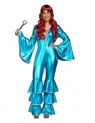 """Costume Febbre del sabato sera"""" blu da donna"""