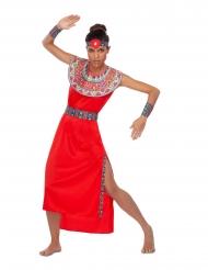 Costume da Masai rosso per donna