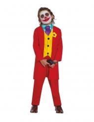 Costume da clown depresso per bambino
