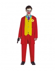 Costume da folle clown per adolescente
