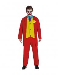 Costume clown pazzo per adulti