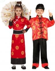 Costume di coppia di cinesi per bambini