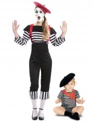 Costume da mimo mamma e bebè