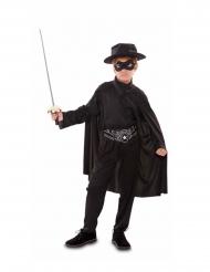 Costume bamndito mascherato bambino
