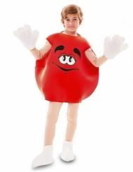 Costume caramella rossa per bambini
