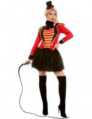 Costume da presentatore del circo per donna
