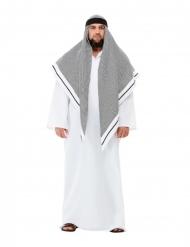 Costume da sceicco bianco lusso adulto
