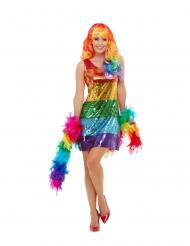 Costume arcobaleno per donna