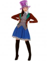 Costume da cappellaio pazzo per donna