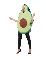 Costume da avocado verde per adulti