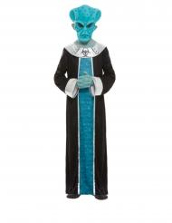 Costume da aliena blu per bambino