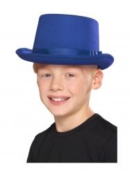 Cappello a cilindro blu per bambino