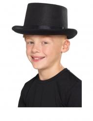 Cappello a cilindro nero per bambini