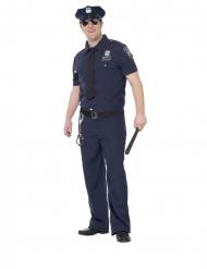 Costume da poliziotto NYC taglia grande uomo