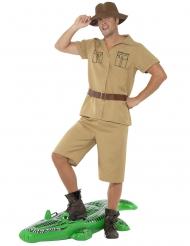 Costume da guida di safari per uomo