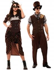 Costume coppia steampunk per adulto