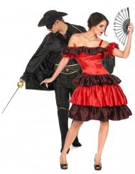 Costume di coppia giustiziere e compagna