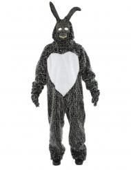 Costume coniglio nero adulto