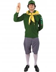 Costume scout verde uomo