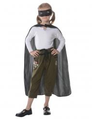 Kit da supereroe nero per bambini
