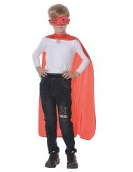 Kit da supereroe di colore rosso per bambini