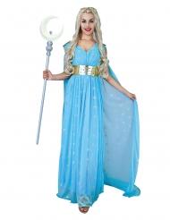 Costume principessa medievale celeste donna