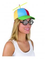Cappello con elica per adulto