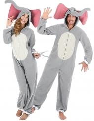 Costume coppia di elefanti per adulto