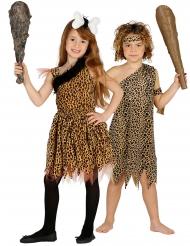 Costume di coppia bambini preistorici