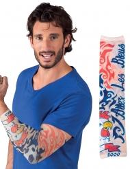 Manica tatuaggi supporter Francia