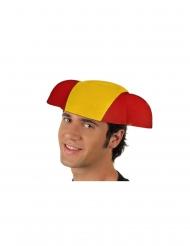 Cappello da torero bandiera della Spagna per adulto