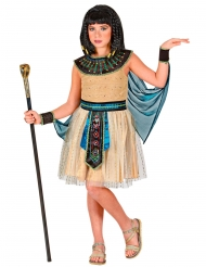 Costume vestito da regina egiziana per bambina