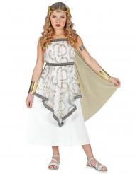 Costume da dea greca per bambina