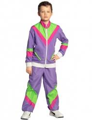 Costume tuta acetata anni 80 bambino