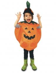 Poncho da zucca di halloween per bambino