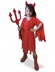 Costume diavolessa rossa bambina