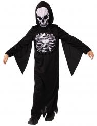 Costume scheletro misterioso bambino