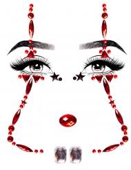 Bijoux per viso adesivi clown
