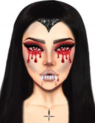 Bijoux per viso adesivi vampiro
