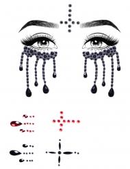 Bijoux per viso adesivi suora