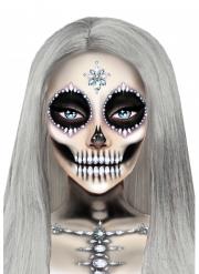 Bijoux per viso adesivi scheletro